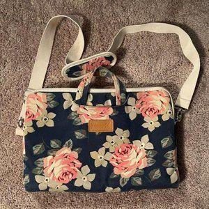 Canvaslife Floral Laptop Bag